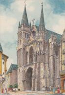 Carte Postale    BARRE & DAYEZ      VANNES  La Cathedrale     Illustrateur  Barday    2159  B - Vannes
