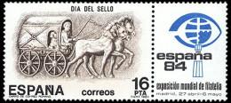 España 2719 ** Día Del Sello. 1983 - 1981-90 Neufs