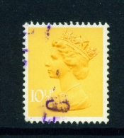 GREAT BRITAIN  -  1971 To 1996  Queen Elizabeth II Machin Definitive  101/2p  Used As Scan - Machins