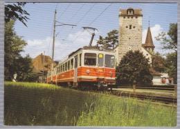 OJB-Zug Beim Schloss Aarwangen - OSST Oberaargau - Solothurn - Seeland - Transport -  Bahn - Railway - Train - Trenes