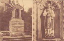 Franchimont - Fontaine Et Statue St Hadelin (Paquier, Flawinne) - Philippeville