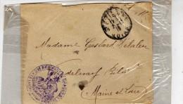Philatélie - Enveloppe  Circulé - Affranchissement Militaire - 29e Régiment De Dragon  Le Conseil D\´ad... éventuel  191 - Non Classés