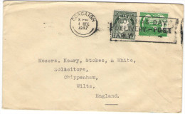 IRLANDA - IRLANDE - Ireland - EIRE - 1947 - Viaggiata Da Corcaigh Per Chippenham, England - Storia Postale