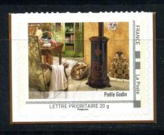 """Le Poéle Godin . Adhésif Neuf ** . Collector """" LA PICARDIE  """" 2011 - Collectors"""