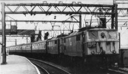 Ardwick Railway Station Class 76 Locomotives - Railway
