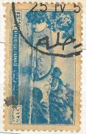 Lebanon RARE Postmark On Piece: 1950s ZAHLE On Nahr-el-Kelb 12p50 2nd Issue Stamp - Circular - Lebanon