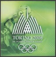 ITALY 2006 - XX OLYMPIC WINTER GAMES TORINO 2006 - STICKER / AUTOCOLLANTE - Giochi Olimpici