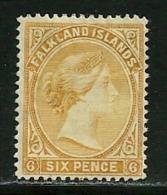 """Falkland Islands       """"Queen Victoria""""     SC# 16     SCV$ 52.50 - Falkland Islands"""