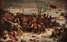 Lapina 315 - Yvon, Retraite De Russie Décembre 1812 (7 Lignes) - Pittura & Quadri