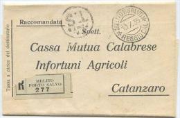 1935 SEGNATASSE C.10 + L.1 SU MODULO COMPLETO.7.35 IN INCONSUETA TARIFFA L.1,10 (c. 50+60)  ... VEDI DESCRIZIONE (6444 - 1900-44 Vittorio Emanuele III