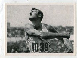 SB10145 KOSMOS Zigarettenbilder - Oylmpische Spiele Helsinki 1952 Bild Nr.79 Bob Mathias, Der Welt Bester Zehnkämpfer .. - Chromos