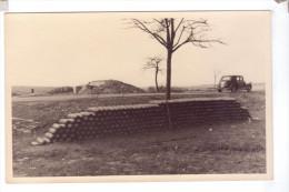 GUERRE Destruction Photo  A Identifier Mimosa Paper Papier Obus Traction Voiture Citroen - Guerre 1914-18