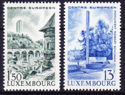 Luxemburg Luxembourg  - Europa-Zentrum 1966 - Postf. MNH - Europäischer Gedanke
