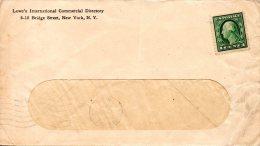 USA. N°182 Sur Enveloppe. G. Washington. - George Washington