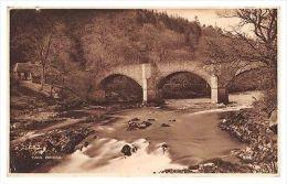 YAIR BRIDGE - 18th Century - Near Selkirk - Old Postcard, Local Publisher - Selkirkshire