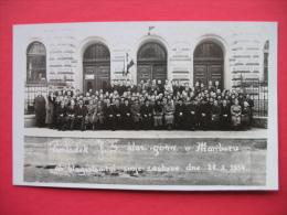 Pomladek J.S. Klas.gimn.v Mariboru Ob Blagoslovitvi Svoje Zastave Dne 28.X.1934 - Slowenien