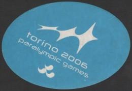 ITALY 2006 - PARALYMPIC WINTER GAMES TORINO 2006 - STICKER / AUTOCOLLANTE - Altri