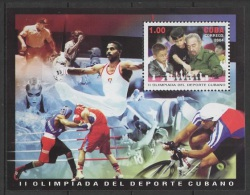 C* (2004) Yv. Bf. 190 /  Chess - Echecs - Ajedrez - Schach - Sports - Boxing - Cycling - Gymnastics - Schaken