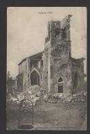 DF / 54 MEURTHE ET MOSELLE / LIMEY / GUERRE 1914-18 / L'EGLISE / CIRCULÉE EN 1918 - Guerra 1914-18