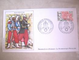 ENVELOPPE 1° JOUR EMISSION LEGION ETRANGERE CAMERONE 30 AVRIL 1984 ETAT EXCELLENT - Militaria