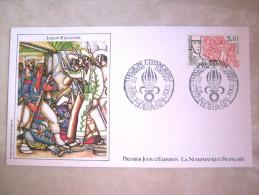 ENVELOPPE 1° JOUR EMISSION LEGION ETRANGERE CAMERONE 30 AVRIL 1984 ETAT EXCELLENT