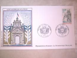 ENVELOPPE 1° JOUR EMISSION ECOLE MILITAIRE PRYTANEE LA FLECHE 20 JUIN 1987 ETAT EXCELLENT