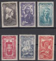France Coiffes Régionales (1943) Série Y/T 593/98 Neufs * à 15% De La Cote - Francia