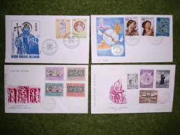 A2975) Vatikan 16 Belege / FDC Aus 1954 - Ca. 1977 - FDC