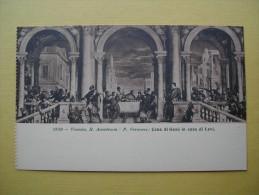 L´Académie Royale. La Cène De Jésus Dans La Maison De Lévi Par Veronese. - Venezia (Venice)