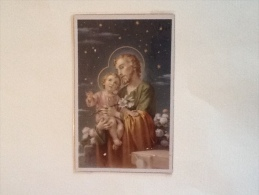 Giuseppe Con Gesu' Bambino Non Viaggiata F.p. - Cristianesimo