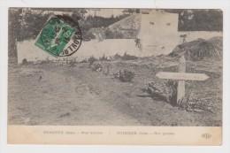 60 - MILITARIA - PUISIEUX NOS TOMBES - CIMETIERE - 2 Scans - - France