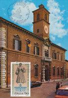 D19211 CARTE MAXIMUM CARD 1992 ITALY - PALACE FAMILY D'ESTE CP ORIGINAL - Architecture