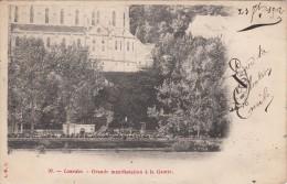 Cp , 65 , LOURDES , Grande Manifestation à La Grotte - Lourdes