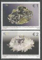 KOS 2014-295-6 MINERALS, KOSOVO, 1 X 2v, MNH - Kosovo