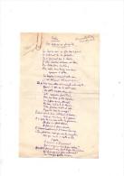 Franc-Nohain.Manuscrit Autographe Signé. Fables.Les Lapins En Famille & Lu Antennes.4 Pages.(21 X 13,5 Cm)SD. - Autographs