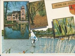 HERK DE STAD PARK OLMNHOF HARIAS MEER     ..........(GROOT FORMAAT) - Herk-de-Stad