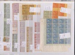 ALBUM TIMBRES NEUFS NOUVELLE CALEDONIE  JUSQU A 1945 , TAXES , PLANCHES ET UN FEUILLET - Collections (en Albums)