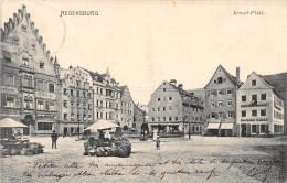 ALLEMAGNE.   DEUTSCHLAND.  REGENSBURG.   ARNULF-PLATZ.    ETALS DE MARCHANDS.  DOS NON DIVISE. - Regensburg