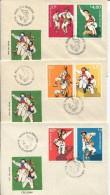 Romania -  Calusarii - National Dance , 1977 - FDC