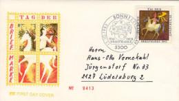 Deutschland/Germany, FDC 1983 (Michel 1192), Postilion, Tag Der Briefmarke/Stamp Day  (HOV-1462) - Musik