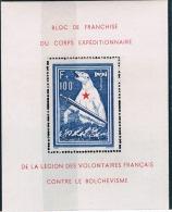 FRANCE  L.V.F  Série Bloc De L´Ours Signé + N° 1** à 10** - Guerres