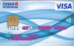 Czech Republic - Ceska Sporitelna - VISA - Geldkarten (Ablauf Min. 10 Jahre)