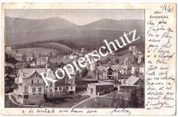 Ober - Krummhübel 1903, Bahnpoststempel   (z1713) - Schlesien