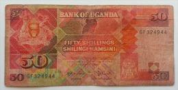 UGANDA 50 SHILINGI 1988 VG - Uganda