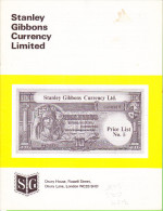 Price List - Stanley Gibbons - Very Early (un-dated) Price-catalogue - Banknotes