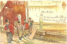 Melchers   Marken Haven    E. Spielvogel New York - Autres Illustrateurs