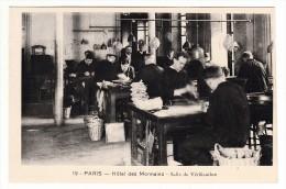 75 - Paris - Hôtel Des Monnaies - Salle De Vérification - Editeur: ? N° 19 - Artisanry In Paris