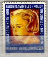 Vignette Cinderella Bornelammelse Polio - Vignettes De Fantaisie