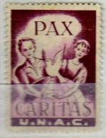 Vignette Cinderella Pax Caritas U.N.A.C. - Vignettes De Fantaisie