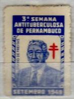 Vignette Cinderella Antituberculosa De Pernambuco - Fantasy Labels